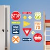 WallPops! Art Kit Road Signs Wall Decal