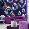 Brewster Home Fashions Komar Crystals Wall Mural