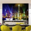 <strong>Ideal Décor Victoria Harbor Wall Mural</strong> by Brewster Home Fashions