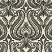 Brewster Home Fashions Simple Space II Imperial Modern Damask Wallpaper