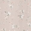 Brewster Home Fashions Kitchen & Bath Resource III Lamott Satin Floral Trail Floral Wallpaper
