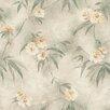 Brewster Home Fashions Kitchen & Bath Resource III Segal Textured Trail Floral Wallpaper