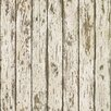 Brewster Home Fashions Borders by Chesapeake Harley Weathered Wood Stripes Wallpaper