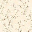 Brewster Home Fashions Pure Country Felicia Star Berry Vine Floral Wallpaper