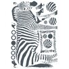 Euro Zebra Wall Decal