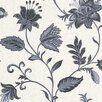 Brewster Home Fashions La Belle Maison Heritage Jacobean Flower Wallpaper