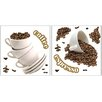 <strong>Brewster Home Fashions</strong> Home Décor Coffee Wall Decal