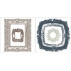 <strong>Home Décor Frame Wall Decal</strong> by Brewster Home Fashions