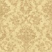 <strong>Brewster Home Fashions</strong> Pompei Fontana Floral Damask Wallpaper