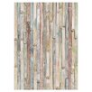 <strong>Brewster Home Fashions</strong> Komar Vintage Wood Wall Mural
