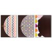 <strong>Studio C Hot Chocolate 13 Pocket Expandable Folder</strong> by Carolina Pad & Paper