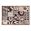 <strong>Calais Brown Kilim Rug</strong> by Regence Home