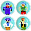 <strong>Pirates Round Knob (Set of 4)</strong> by Olive Kids