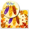 <strong>Olive Kids</strong> Fall Harvest Personalized Meal Time Plate Set