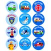 Olive Kids Heroes Personalized Stickers (Set of 60)