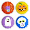 "<strong>Halloween 1.5"" Round Knob (Set of 4)</strong> by Olive Kids"