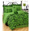 <strong>Lime Zebra Bedding Collection</strong> by Karin Maki