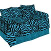 Karin Maki Zebra Daybed Ensemble 5 Piece Comforter Set