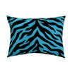 <strong>Zebra Synthetic Oblong Pillow</strong> by Karin Maki