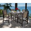 <strong>POLYWOOD®</strong> Coastal 5 Piece Dining Set