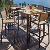 <strong>Bayline™ 7 Piece Bar Dining Set</strong> by POLYWOOD®