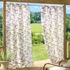 <strong>Commonwealth Home Fashions</strong> Floral Garden Grommet Curtain Single Panel