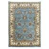 DonnieAnn Company Tiffany Blue Oriental Area Rug