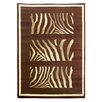 <strong>Tiffany Chocolate Animal Print Rug</strong> by DonnieAnn Company
