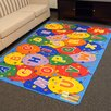 DonnieAnn Company Paradise Alphabets Balloon Outdoor Area Rug