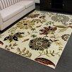 DonnieAnn Company Tiffany Beige Floral Area Rug