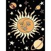 DonnieAnn Company African Adventure Sun-Moon Area Rug