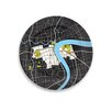 "<strong>City on a Plate 12"" Shanghai Dinner Plate</strong> by notNeutral"