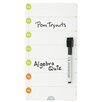 AccoBrands Magnetic Day Planner 0.98' x 0.52' White Board