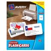 "Avery 3"" x 5"" Custom Print Flash Card  56 Count"