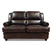 Luke Leather Bentley Leather Modular Loveseat