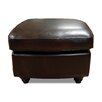 Luke Leather Bentley Leather Ottoman