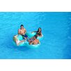 Rave Sports Lucky Lounge 4 Person Pool/Lake Party Float