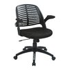 Ave Six Tyler Mid-Back Task Chair with Arm