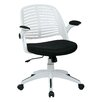 <strong>Tyler Mid-Back Task Chair with Arm</strong> by Ave Six