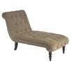 <strong>Ave Six</strong> Curves Velvet Chaise Lounge