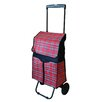 HelpingHand Plaid Shopping Cart