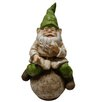 <strong>Alpine</strong> Gnome on Ball Statue