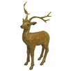 Alpine Deer Statue Christmas Decoration