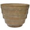 <strong>Round Rippled Bowl Planter</strong> by Alpine