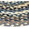 <strong>Beacon Hill Denim Blue, Grey & Tan Multi Runner Rug</strong> by Thorndike Mills