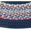 <strong>Pioneer Valley II Olympic Blue with Dark Blue Solids Multi Runner O...</strong> by Thorndike Mills