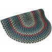 <strong>Pioneer Valley II Carribean Blue Multi Round Outdoor Rug</strong> by Thorndike Mills