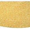 Thorndike Mills Fresh Produce Summer Squash Runner Yellow Area Rug