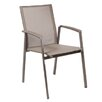 <strong>Alfresco Home</strong> Serenity Stacking Dining Arm Chair (Set of 4)