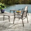 Alfresco Home Serenity Relax Lounge Chair and Table Set